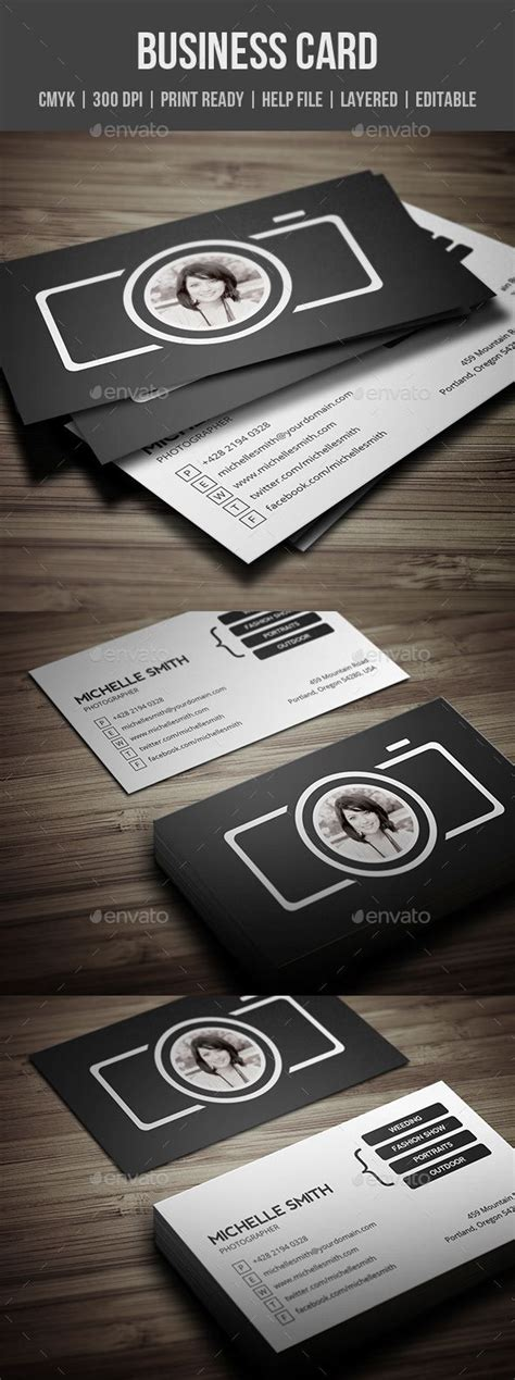 Photographer Visiting Card Templates Psd by Best 25 Photographer Business Cards Ideas On
