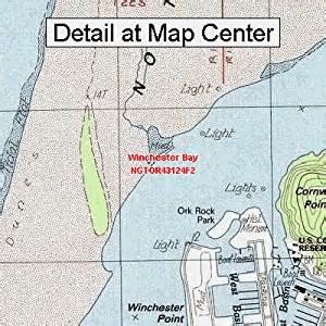 usgs topographic quadrangle map winchester