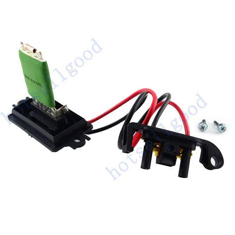 heater resistor renault megane renault megane ii heater blower resistor 7701207717 509536 ebay