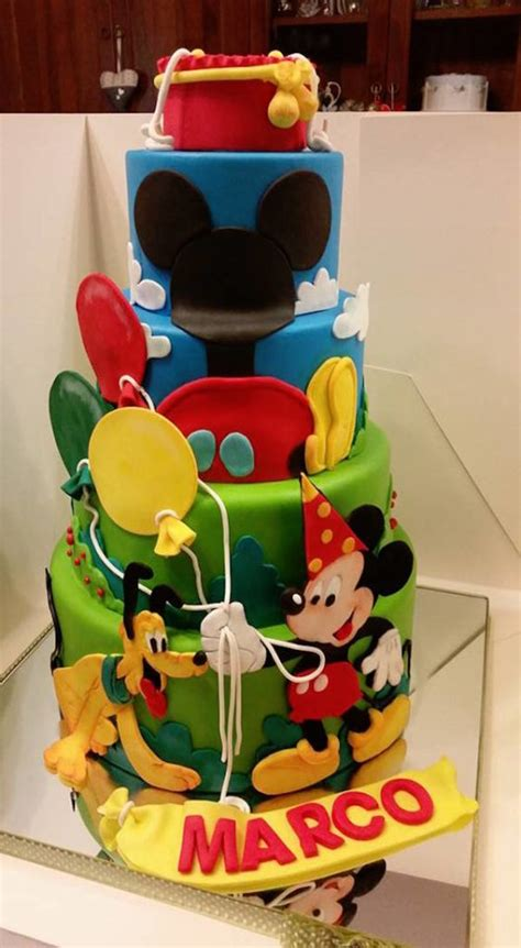 torta casa di topolino torte topolino e la casa di topolino
