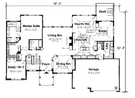Ranch Floor Plans With Basement Walkout | ranch homes with walkout basements floor plans for homes
