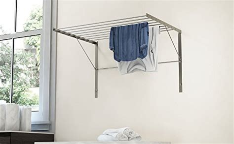 Folding Clothes Rack Wall Mounted by Clothes Drying Rack Stainless Steel Wall Mounted Folding