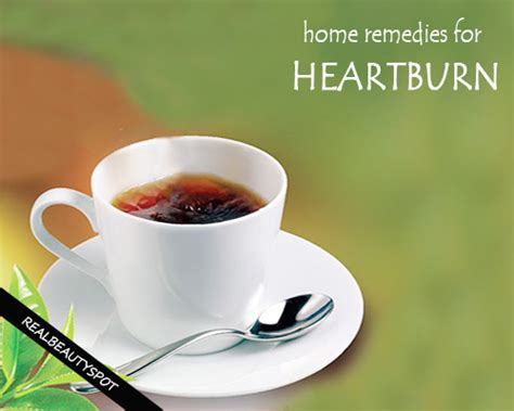 5 home remedies for heartburn theindianspot