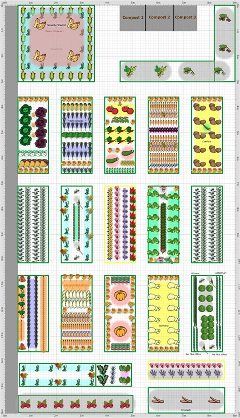1000 Images About Companion Planting On Pinterest Companion Vegetable Garden Layout