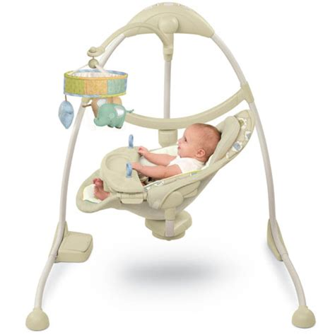 full size baby swings com bright starts kashmir ingenuity full size