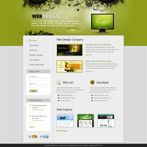 Web Designing Made Easy With Templatemo S Best Web Templates Web Designer Templates