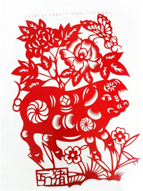 chinese zodiac animal pictures of paper cutting