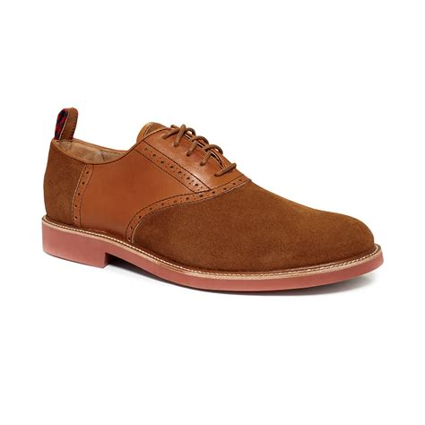 saddle oxfords shoes ralph torrington saddle oxfords in brown for