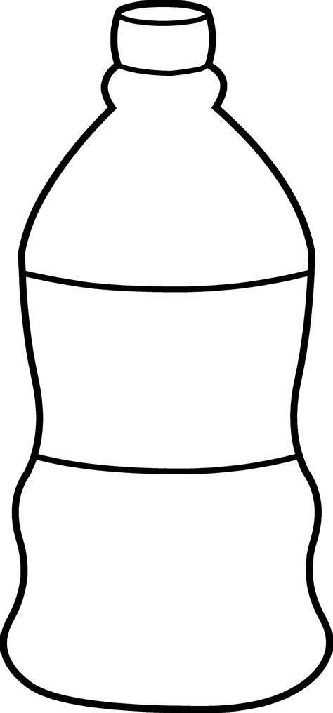free coloring pages of page color water bottle