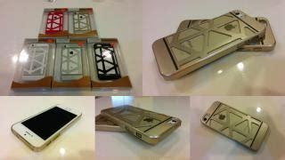 Motomo Apple Iphone 5 Iphone 5s Metal Premium Quality Silver wts iphone 5 cases slim bumper design