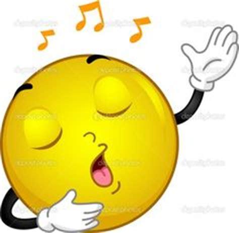 image gallery singing emoji