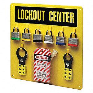 Masterlock Safety Loto S1800 Lockout Stations brady lockout station filled 6 steel locks 3zm47 3003y