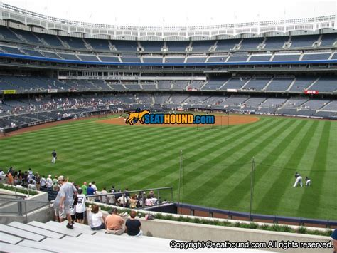 what section are the bleachers at yankee stadium yankee stadium section 202 bleachers seating view at