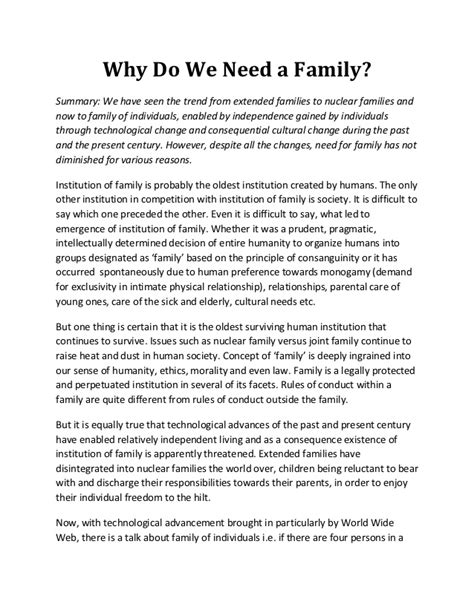 Why We Do Not Need To Detox From Technology by Why Do We Need A Family