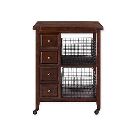 crosley furniture kitchen cart crosley furniture kitchen cart bed bath beyond