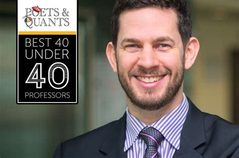 Http Poetsandquants 2017 03 26 40 Outstanding Mba Professors 40 by 2017 Best 40 40 Professors Ethan Pancer