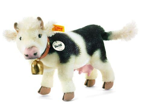 stuffed cow steiff luise cow mohair stuffed animal baby room