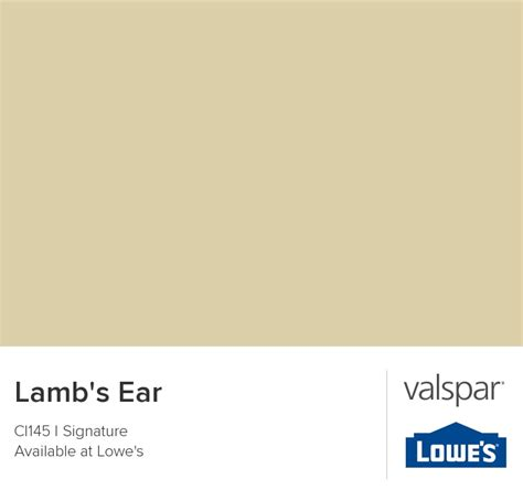 s ear from valspar colour my house