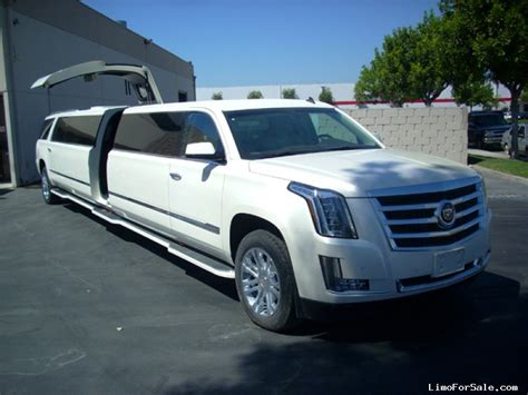 new limo new 2015 cadillac escalade suv stretch limo limos by