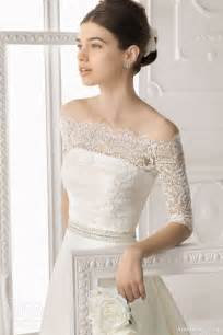 lace jacket wedding dress aire barcelona 2014 bridal collection lace wedding