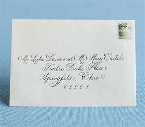 how to address a letter to a married wedding invitation envelope etiquette wedding ideas and