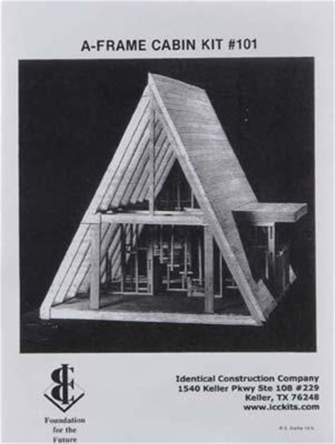 a frame cabin kit house framing a frame cabin mid101ic midwest science