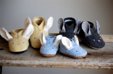 easter shoes for baby boy wooly baby thumpers bunny shoes for baby easter shoes made to order size 0 12 6 18 12 24