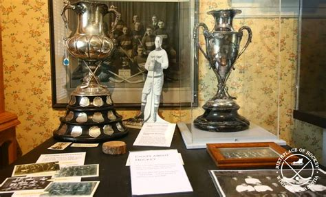 bully room trophies birthplace of hockey the history of hockey from the original home birthplace of