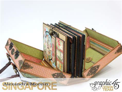 albunes pinterest clayguana graphic 45 safari adventure mini album in a case