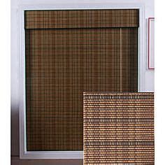 L Shades Overstock by Home Decorators Collection Driftwood Flatweave Bamboo