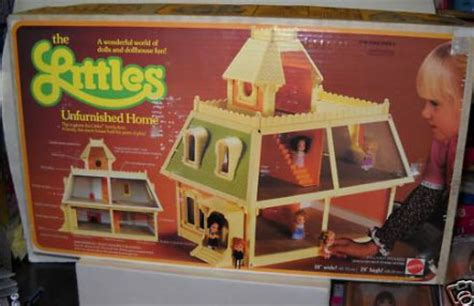dollhouse 1980s the littles dolls by mattel