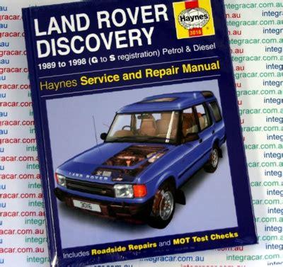 auto repair manual online 1999 land rover discovery auto manual land rover discovery repair manual 1989 1998 sagin workshop car manuals repair books