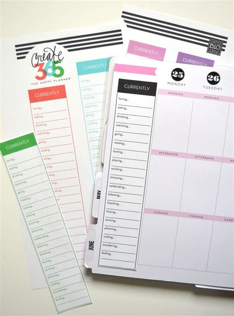 happy planner printable free currently free printables for the happy planner free