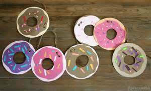 Halloween Decorations At Home Diy Donut Garland Craft Pictures Photos And Images For