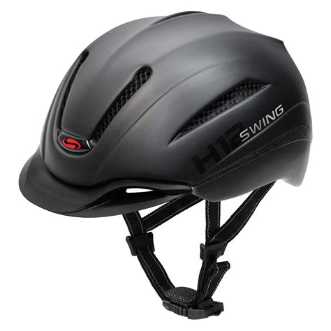 Swing Helm by Swing Reithelm H12 Pro Black Mat 2 53 59 Reithelme