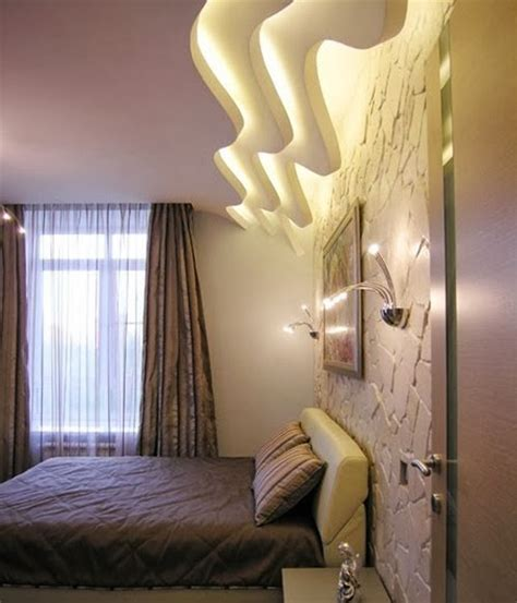 Creative Bedroom Lighting False Ceiling Design For Bedroom With Creative Lighting Ideas