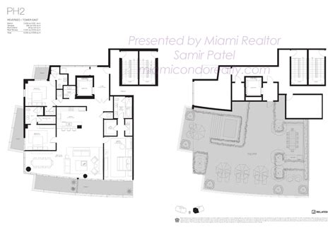 the quarter at ybor floor plans 100 penthouses in miami floor plans eighty seven park by renzo piano new miami florida