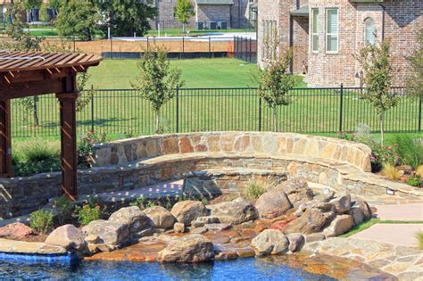 lowes flower mound tx one specialty luxury outdoor living pool and landscape