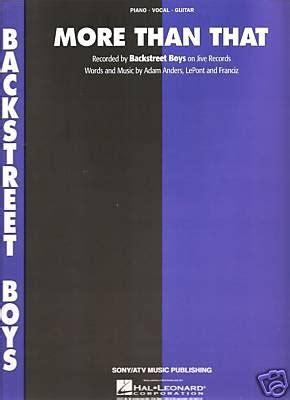 backstreet boys    piano vocal lyrics guitar sheet  buy   uae