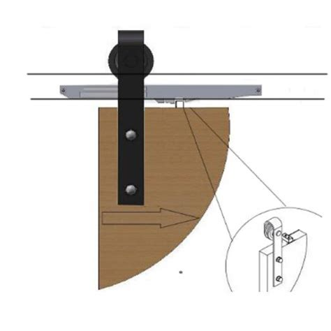 Sliding Barn Door Kit Winsoon Soft Close Mechanism For Sliding Barn Door