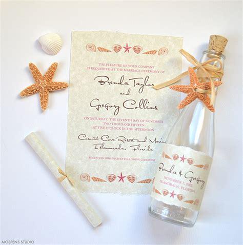 seashell wedding invitations az photos - Wedding Invitations In Az