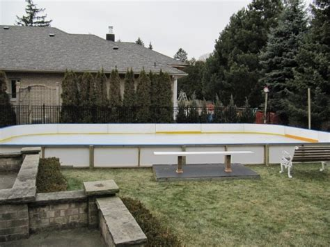 27 best images about our backyard rink projects on