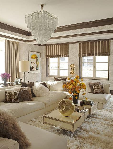 glam living room livinginstyle  interior design
