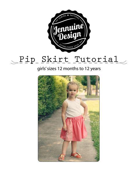 tutorial product design pip skirt tutorial a jennuine life