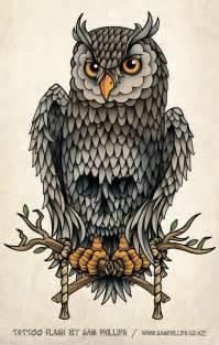 awol tattoo tatuaggi di animali tatuaggi di gufi gratis