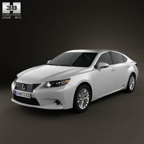 lexus hybrid 2013 lexus es hybrid xv50 2013 3d model humster3d
