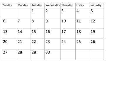 15 Calendar Days Calendar Days Self Made April