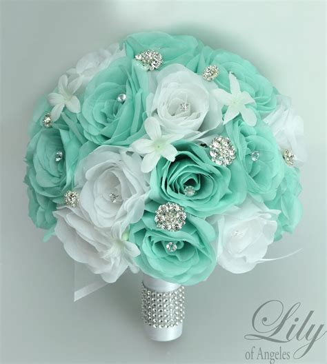 Silk Flower Bouquets For Weddings by 17 Package Silk Flower Wedding Bridal Bouquets