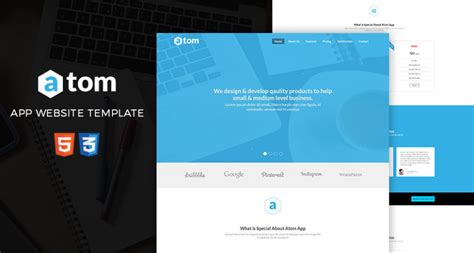 landing page html5 template free website template archives page 2 of 13 free html5