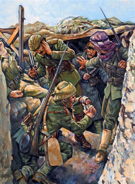 ottoman troops in gallipoli november 1915 ww1 war